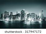 building skyscraper panoramic... | Shutterstock . vector #317947172