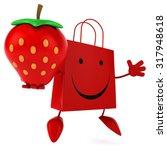 shopping bag | Shutterstock . vector #317948618