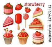 set of sweets. raster... | Shutterstock . vector #317973482