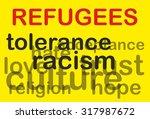 refugees | Shutterstock . vector #317987672