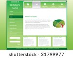 editable web template | Shutterstock .eps vector #31799977