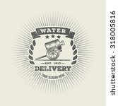 vintage logo company for the... | Shutterstock .eps vector #318005816