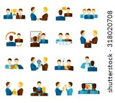 business partnership teamwork... | Shutterstock . vector #318020708