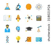 science laboratory and research ... | Shutterstock . vector #318021926