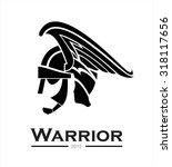 warrior. warrior helmet warrior ... | Shutterstock .eps vector #318117656