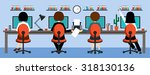 office life.  raster... | Shutterstock . vector #318130136