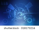 background conceptual image of... | Shutterstock . vector #318173216