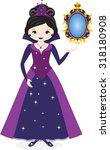 evil queen | Shutterstock .eps vector #318180908