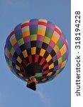 hot air balloon | Shutterstock . vector #318194228