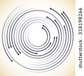 concentric circulating ...   Shutterstock .eps vector #318198266