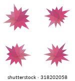 abstract splash star icon set   Shutterstock . vector #318202058
