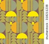 vector seamless abstract... | Shutterstock .eps vector #318211238