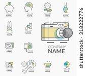 concept logos for business... | Shutterstock .eps vector #318222776