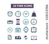 time icons
