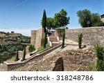 corner of rest in toledo | Shutterstock . vector #318248786