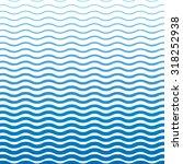 wavy blue pattern | Shutterstock .eps vector #318252938