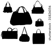 fashion bags | Shutterstock . vector #31826056