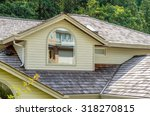 the top of the house. | Shutterstock . vector #318270815
