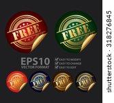 vector   metallic free...   Shutterstock .eps vector #318276845