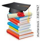 graduate | Shutterstock .eps vector #31827967