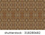 carved wood wall close | Shutterstock . vector #318280682