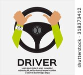 driver design element with... | Shutterstock .eps vector #318373412