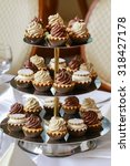 Cake Stand With Cupcakes