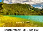 jofre lake with mountains in... | Shutterstock . vector #318435152