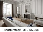 victorian style living room... | Shutterstock . vector #318437858