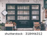 front of coffeehouse | Shutterstock . vector #318446312