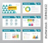 set of infographic presentation ... | Shutterstock .eps vector #318461612