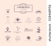 vector collection of cosmetics... | Shutterstock .eps vector #318468956