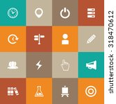 startup icons universal set for ... | Shutterstock . vector #318470612