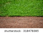 dirt track and grass baseball... | Shutterstock . vector #318478385