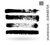 brush stroke and texture....   Shutterstock .eps vector #318488705