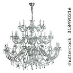 Luxury Chandelier Isolated