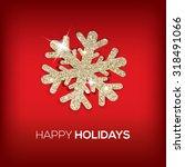 Happy Holidays Glitter...