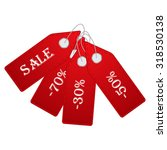 sale labels set. vector... | Shutterstock .eps vector #318530138