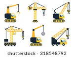 construction icons  different... | Shutterstock .eps vector #318548792