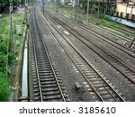 parallel tracks | Shutterstock . vector #3185610