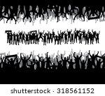 banner for sports championships ... | Shutterstock .eps vector #318561152