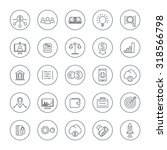 venture capital  investments ... | Shutterstock .eps vector #318566798