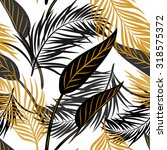 beautiful seamless vector... | Shutterstock .eps vector #318575372