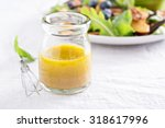 salad dressing with olive oil ... | Shutterstock . vector #318617996