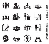 business idea concept icons | Shutterstock .eps vector #318624185