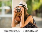 Young Beautiful Woman In Hat I...