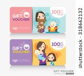 kids store coupon voucher or... | Shutterstock .eps vector #318662132