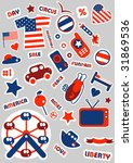 american set.stickers for you | Shutterstock .eps vector #31869536