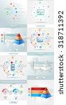 vector infographics element... | Shutterstock .eps vector #318711392