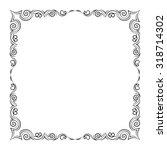 frame | Shutterstock .eps vector #318714302